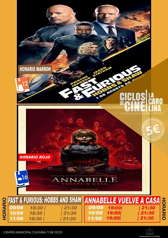 CARTEL SEMANAL DE CINEWEB